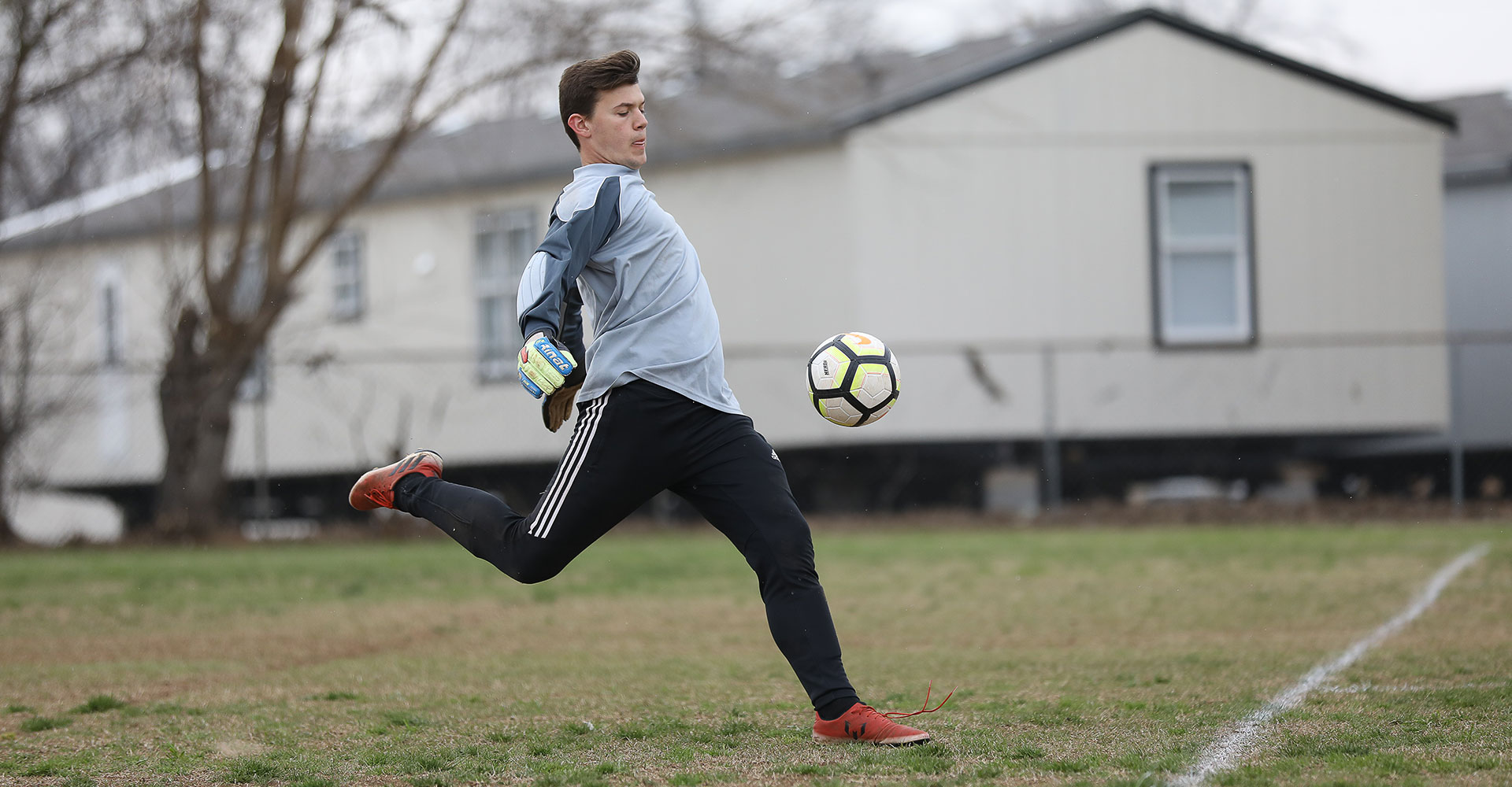 Wright Christian Academy Mens Soccer Player.